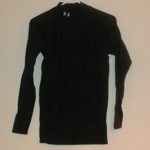 Men's Under Armour Black Long Sleeve Shirt